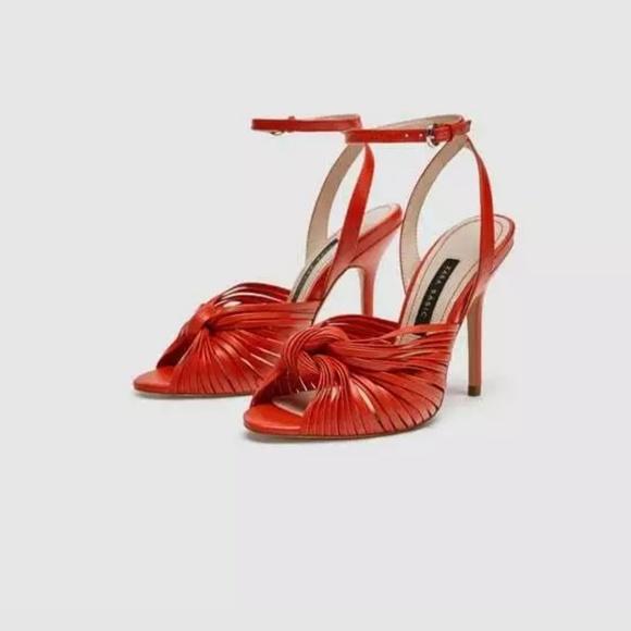 Zara Shoes - Zara Knotted Heels